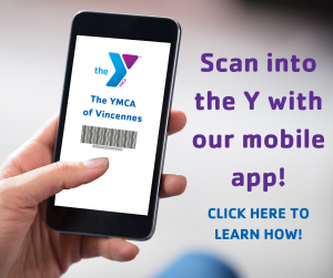 Use the YMCA app to scan into the Y